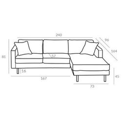 Sofa 2lc mellow 4 gr tkanin - gr 4 marki Altavola design