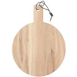 Ib Laursen - Deska okrągła z uchwytem średnia z drzewa akacjowego