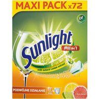 Unilever SUNLIGHT Tabletki do zmywarek (667656) Darmowy odbiór w 20 miastach!, 667656