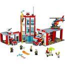 Lego CITY Remiza strażacka 60004