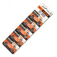 10 x bateria alkaliczna mini  g13 / ag13 / l1154 / lr44/157 / v13ga / rw82 / a76, marki Maxell