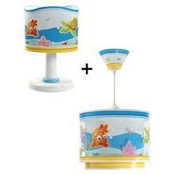 Klik 6033 - Lampa stołowa + Żyrandol AQUARIUM E14/40W/230V z kategorii Oświetlenie dla dzieci
