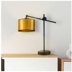 Nowoczesna lampka nocna ze złotym abażurem MALI MIRROR