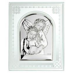 Prezent na komunię -obrazek srebrny na szkle, marki Valenti & co