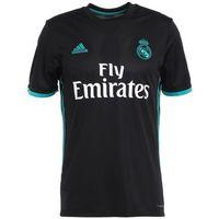 adidas Performance REAL MADRID AWAY 2017/2018 Artykuły klubowe black