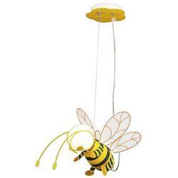 Lampa wisząca dziecięca zwis pszczoła Rabalux Bee 1x40W E27 żółta/czarna 4718 (5998250347189)