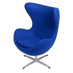 Fotel Jajo niebieski kaszmir #19 z kategorii Krzesła i stoliki