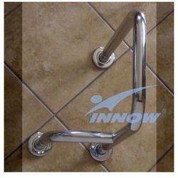 Podpora umywalkowa prawa/lewa z krytym mocowaniem 75 cm inox gkn 105a marki Innow