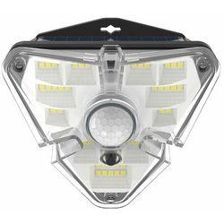 Baseus zewnętrzna ogrodowa uliczna solarna lampa LED z czujnikiem ruchu czarny (DGNEN-A01) - Czarny (6953156225718)