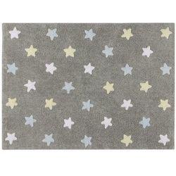 Dywan do prania w pralce: tricolor star - gris/azul (120x160 cm), marki Lorena canals