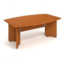 Stół konferencyjny Uni, 2000 x 1100 x 755 mm, czereśnia