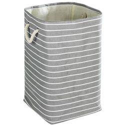 Prostokątny kosz na pranie MARTIM - pojemnik 70 l
