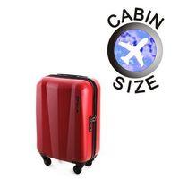 Mała walizka WITTCHEN 56-3-511 czerwona - czerwona