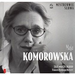 MAJA KOMOROWSKA CZYTA TAJEMNICZY OGRÓD - AUDIOBOOK (ISBN 9788311124585)