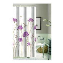 Galicja zasłonka prysznicowa 180 x 180 poliestrowa 9947 wz 17 kwiatki
