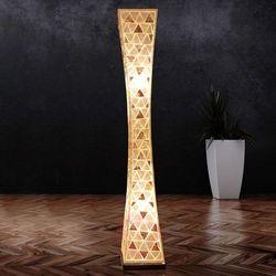 Globo Textil Lampa stojąca Biały, 2-punktowe - - Obszar wewnętrzny - BALI - Czas dostawy: od 4-8 dni roboczych