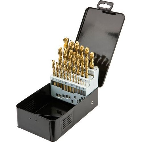 Zestaw wierteł do metalu GRAPHITE 57H200 HSS-TiN 1.0 - 13.0 mm (25 elementów) + DARMOWA DOSTAWA! - produkt z kategorii- Pozostałe narzędzia elektryczne