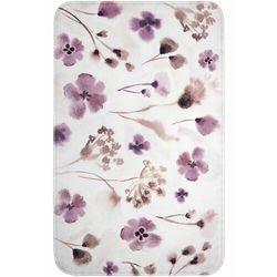 Dywaniki łazienkowe z pianką memory lila-brązowy marki Bonprix