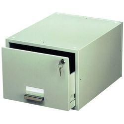 Kasetka na kartoteki Durable Cardbox A5 szara 3353-10, 82711