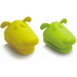 Giftworld Łapka silikonowa - silikonowe łapki pieski - żółte