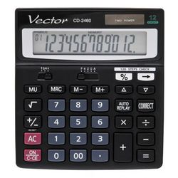 Kalkulator 12 pozycyjny CD-2460 - Super Ceny - Rabaty - Autoryzowana dystrybucja - Szybka dostawa - Hurt