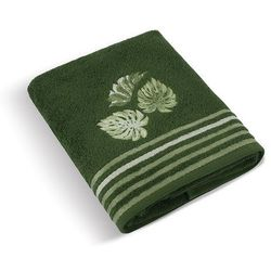 Bellatex Ręcznik Monstera zielony, 50 x 100 cm , 50 x 100 cm