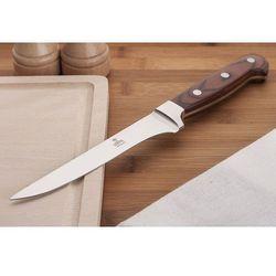 Gerpol / gerpol noże i nożyczki / noże nkb5 Gerpol nóż masarski nkb5 15 cm z drewnianą rękojeścią