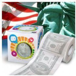 Papier toaletowy 100 dolarów - produkt z kategorii- Prezenty na wieczór kawalerski