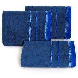 Ręcznik Kora 70x140 Eurofirany ciemny niebieski, 7097