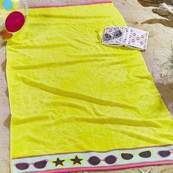 Dekoria Ręcznik plażowy Pineapple 83x160cm, 83x160cm
