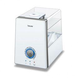ultradźwiękowy nawilżacz powietrza z parowaniem wody lb 88 biały wyprodukowany przez Beurer