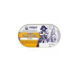 Filety z makreli w oleju 170 g Pirat