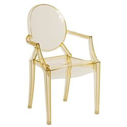Krzesło dziecięce Royal Jr. żółty transparent MODERN HOUSE bogata chata