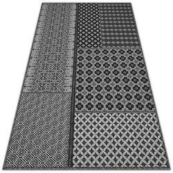 Dywanomat.pl Dywan zewnętrzny tarasowy wzór dywan zewnętrzny tarasowy wzór aztecki styl
