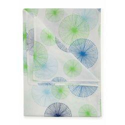 Bonprix Narzuta w ornamentowy wzór niebieski