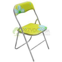 Krzesło ogrodowe składane FLOWER zielone, kup u jednego z partnerów