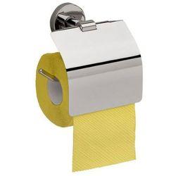 Merida Uchwyt na papier toaletowy z klapką mosiądz chromowany połysk