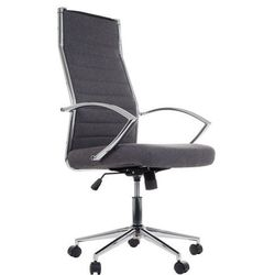 Fotel gabinetowy ne-637 szary (tapicerka 5) - biurowy, obrotowy - krzesło obrotowe marki Stema - ne