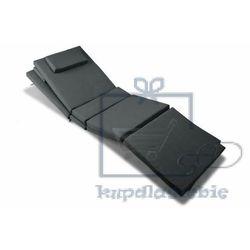 Zestaw 2x poduszek na leżaki garth - antracyt marki Divero