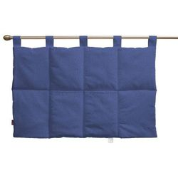 Dekoria  wezgłowie na szelkach, niebiesko-błękitny szenil, 90 x 67 cm, living