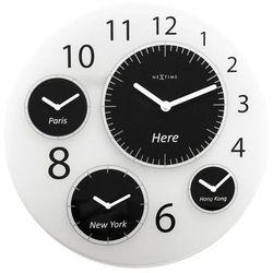 Zegar ścienny big world marki Nextime