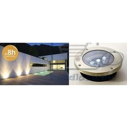 Komplet 4 szt. Lampa solarna Garth wbudowana ogrodowa LED (4025327342479)