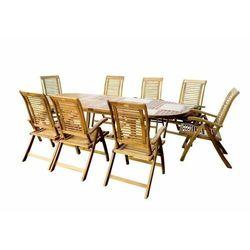Hecht czechy Hecht royal set meble ogrodowe zestaw mebli ogrodowych stół + 8 krzeseł drzewo akacja - ewimax oficjalny dystrybutor - autoryzowany dealer hecht (8595614907927)