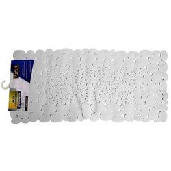 Mata łazienkowa Stones biała 75 x 37 cm