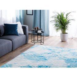 Dywan jasnoniebieski 160 x 230 cm krótkowłosy elazig marki Beliani