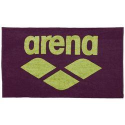 ręcznik pool soft towel red wine-shiny green 150x90 cm marki Arena