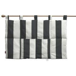 Dekoria  wezgłowie na szelkach, pasy czarno-białe, 90 x 67 cm, comics