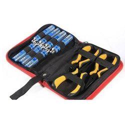 Zestaw kluczy, śrubokrętów i kombinerek 10w1 marki Hsp