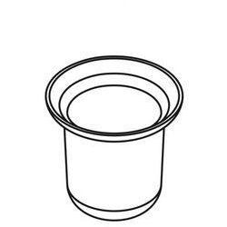 Akcesoria łazienkowe stella Stella pojemnik szklany do szczotki wc living 80.013 do 03.430