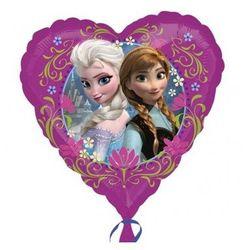 Balon foliowy serce Frozen - Kraina Lodu - 47 cm - 1 szt.